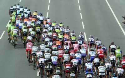 Cycling's Best Performance Enhancer: Riding in the Peloton