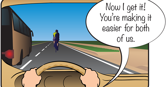 Understanding Cyclists Position on the Roadway